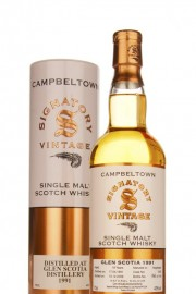 Glen Scotia 18 Year Old 1991 (Signatory) Single Malt Whisky
