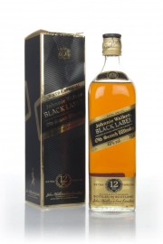 Johnnie Walker Black Label 12 Year Old - 1980s Blended Whisky