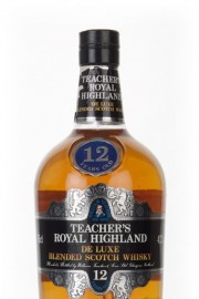 Teacher's Royal Highland 12 Year Old - 1980s Blended Whisky