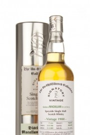 Macallan 1988 21 Year Old - Un-Chillfiltered (Signatory) Single Malt Whisky