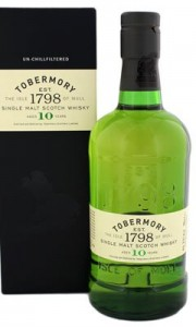 Tobermory 10 Years Old 700ml Gift box