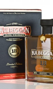 Kilbeggan 18 Year Old, 40% ABV, Distillery Bottled