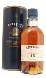 Aberlour 15 Year Old Select Cask Reserve Single Speyside Malt Whisky