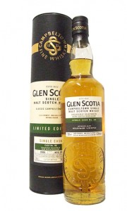 Glen Scotia 12 Year Old 2006 Single Cask #98 Single Campbeltown Malt Whisky