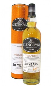 Glengoyne 10 Year Old Single Highland Malt Whisky