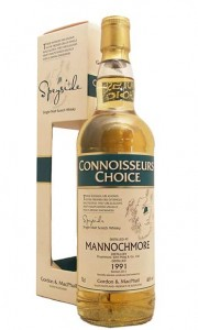 Mannochmore 1991 Connoisseurs Choice DAMAGED BOX