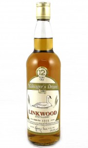 Linkwood 12 Year Old - The Managers Dram 59.5%