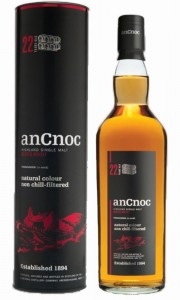 anCnoc 22 Year Old Whisky