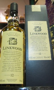 Linkwood 12 Year Old Flora and Fauna Whisky