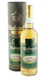 Bladnoch Distiller's Choice, Lightly Peated with Tube