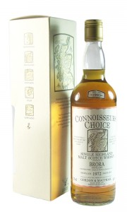 Brora 1972, Gordon & MacPhail Connoisseurs Choice, 1993 Bottling