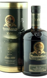 Bunnahabhain 18 Year Old with Tube