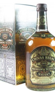 Chivas Regal 12 Year Old Blended Whisky, Litre Bottling with Box