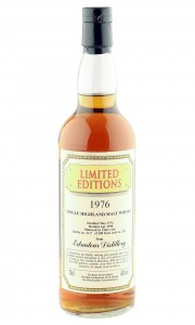Edradour 1976 21 Year Old, Blackadder Limited Editions 1998 Bottling