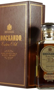 Knockando 1979 21 Year Old, Extra Old Decanter with Box