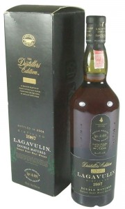 Lagavulin 1987 'The Distillers Edition' Bottling with Box