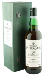 Laphroaig 30 Year Old, 75CL Bottling with Presentation Box