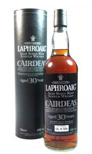 Laphroaig 30 Year Old Cairdeas with Tube