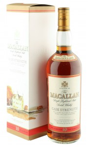Macallan 10 Year Old, Cask Strength Litre Bottling with Box