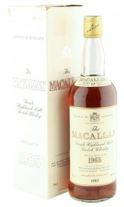 Macallan 1965 17 Year Old, Rare UK 1983 Bottling with Box