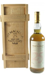 Macallan 1965 25 Year Old Anniversary Malt, UK Bottling with Box