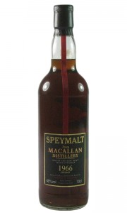 Macallan 1966 Vintage Speymalt, Gordon & MacPhail 2000 Bottling