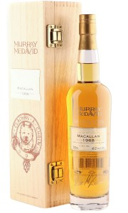 Macallan 1968 34 Year Old, Murray McDavid Mission Bottling with Box