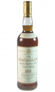 Macallan 1976 18 Year Old, French Import