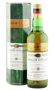 Macallan 1976 26 Year Old, The Old Malt Cask 2003 Bottling with Box