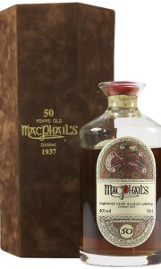 MacPhail's 1937 50 Year Old, Gordon & MacPhail Decanter with Case