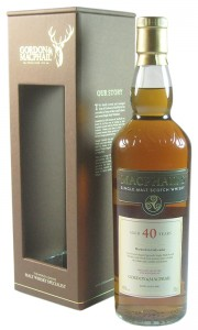 MacPhail's 40 Year Old, Gordon & MacPhail Bottling with Box
