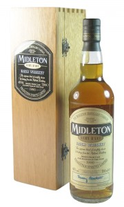Midleton Very Rare Irish Whiskey, 1990 Bottling with Wooden Box