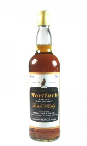 Mortlach 1960, Gordon & MacPhail Bottling with Box