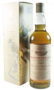 Old Pulteney 8 Year Old, Gordon & MacPhail Nineties Bottling with Box
