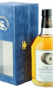 Port Ellen 1978 23 Year Old, Signatory Vintage Cask 5346 with Box