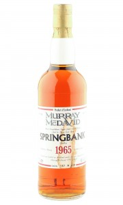 Springbank 1965 33 Year Old, Murray McDavid 1998 Bottling - Cask 580