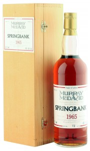 Springbank 1965 33 Year Old, Murray McDavid 1999 Bottling with Box