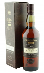 Talisker 1987, The Distillers Edition 2000 Bottling with Box