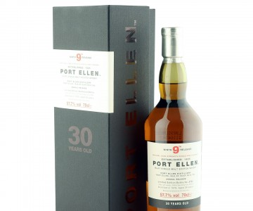 Port Ellen 1979 30 Year Old, 9th Annual Release with Presentation Box