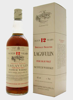 Lagavulin 12 year old, White Horse Distillers