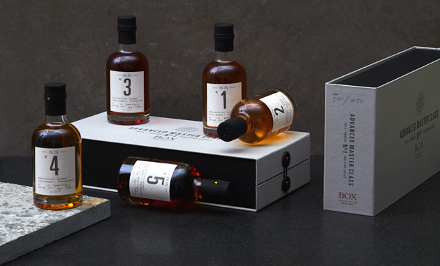 Box Whisky - Toasting Masterclass
